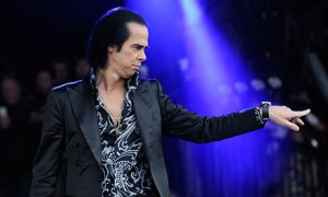 Nick Cave at Glastonbury