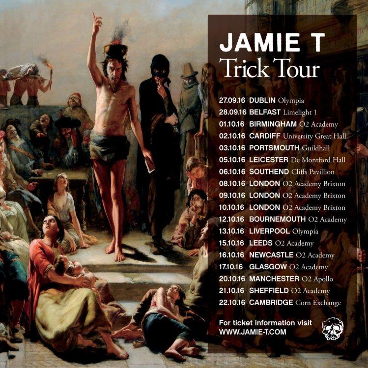 Jamie T Tour poster